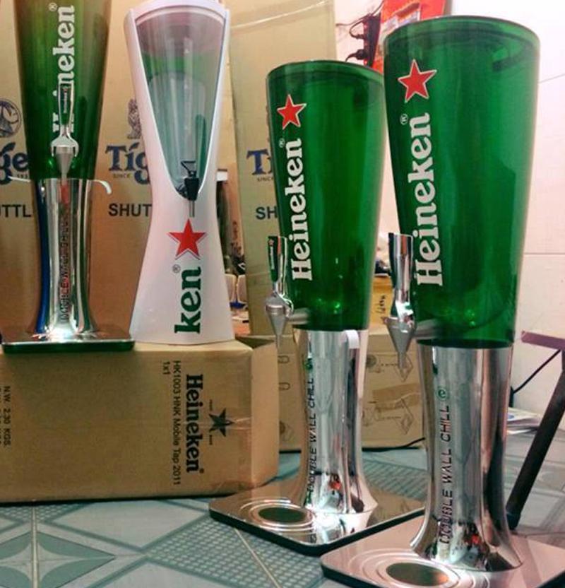 tháp bia heineken giá rẻ 3 lít