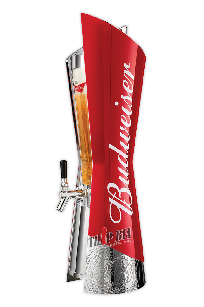 Tháp bia Budweiser